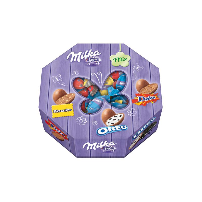 Schokoladeneier im Test: Milka-Mix