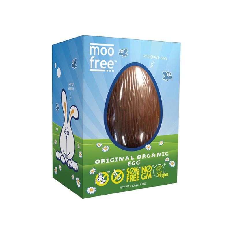 Schokoladeneier im Test: moo-free vegan Egg