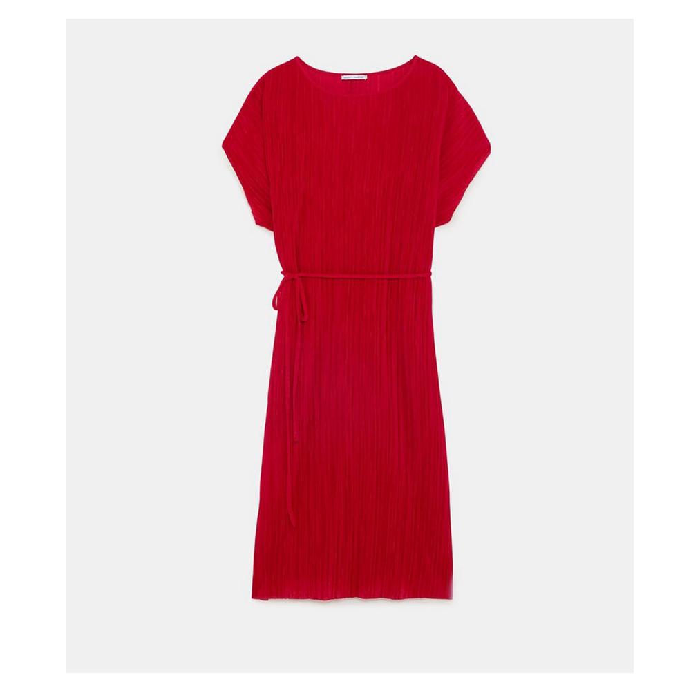 Rotes Kleid von Zara