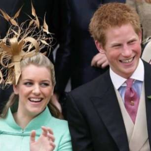 Harry, William und ihre Stiefschwester bei einem offiziellen Anlass