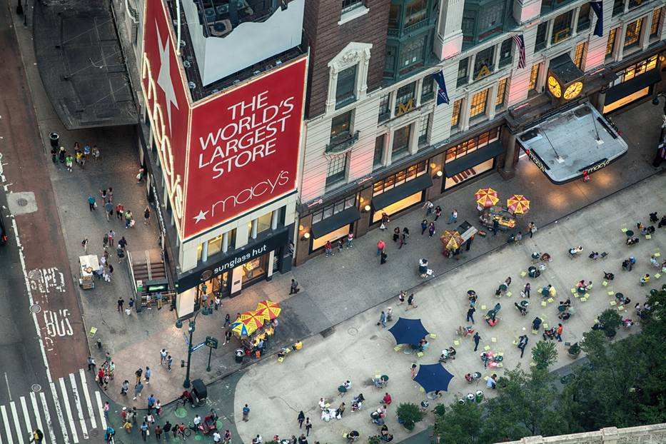 Shopping in New York: Macy's