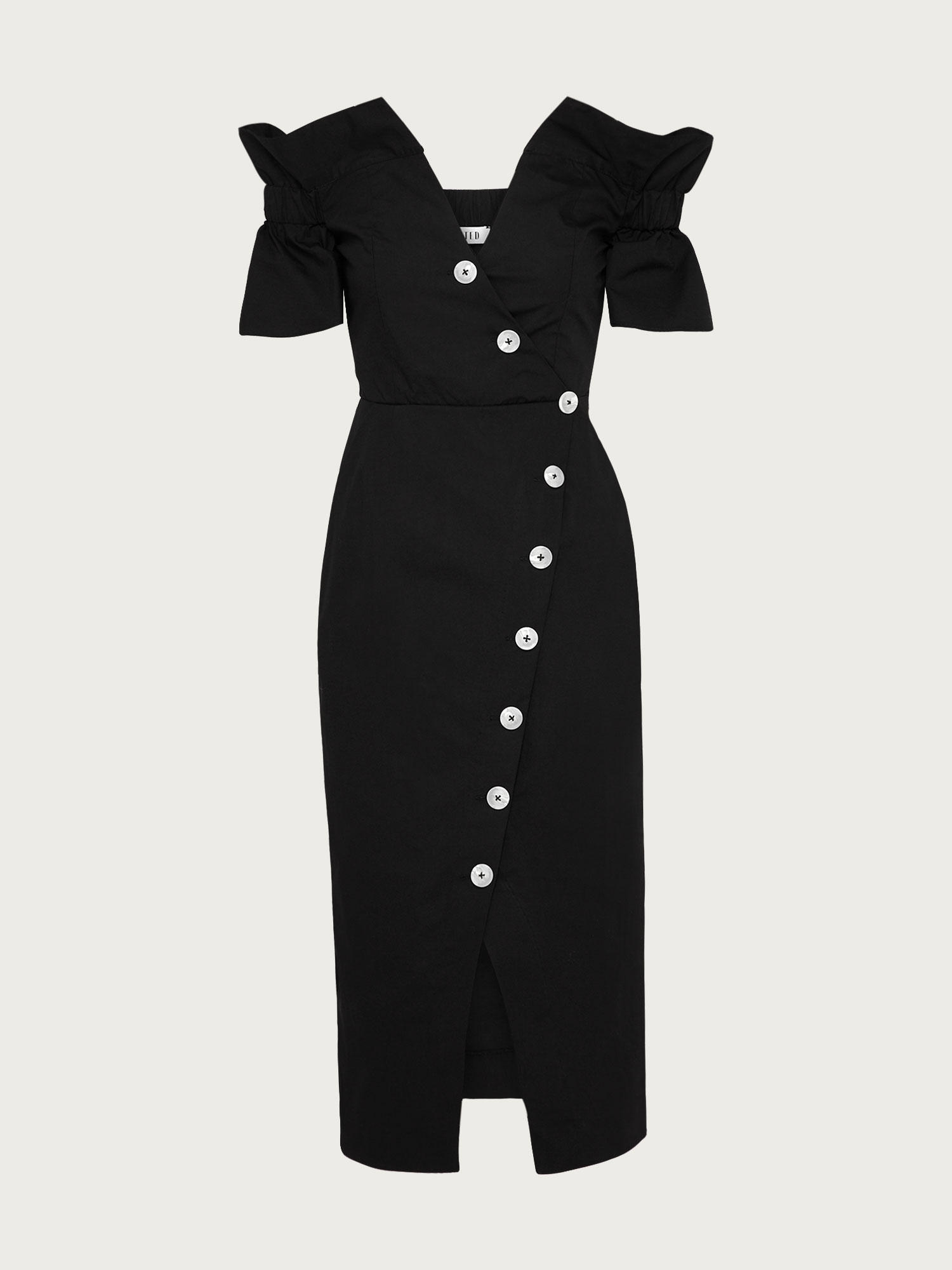 Buttom Down Dress von Edited