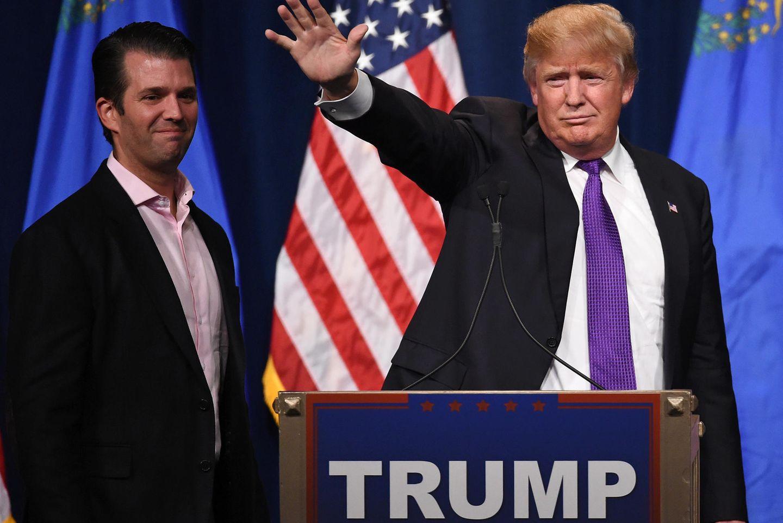 Pikante Details enthüllt: Donald Trump Jr. soll mit IHR eine heiße Affäre gehabt haben!