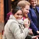 Prinz Harry und Meghan Markle bei einem Presseevent