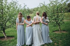 Pantone Trendfarbe 2018 Brautjungfernkleider