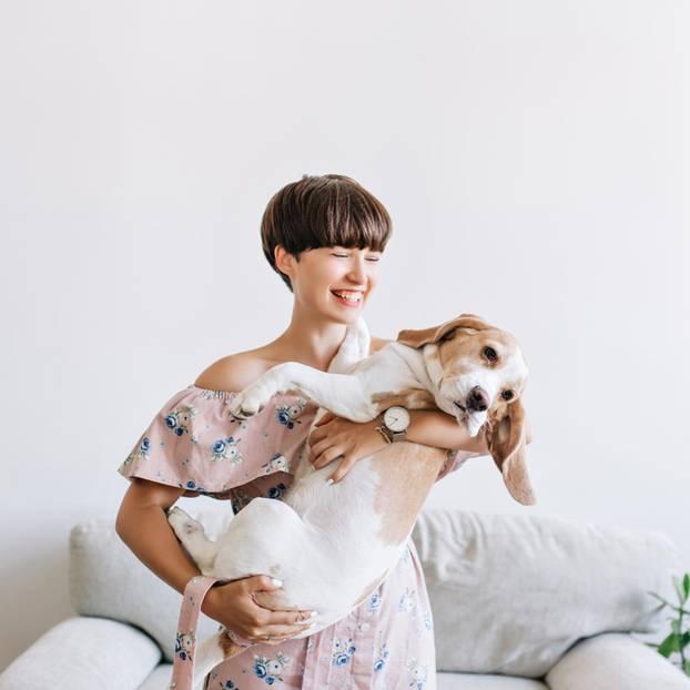 Mamasein mit Hund üben