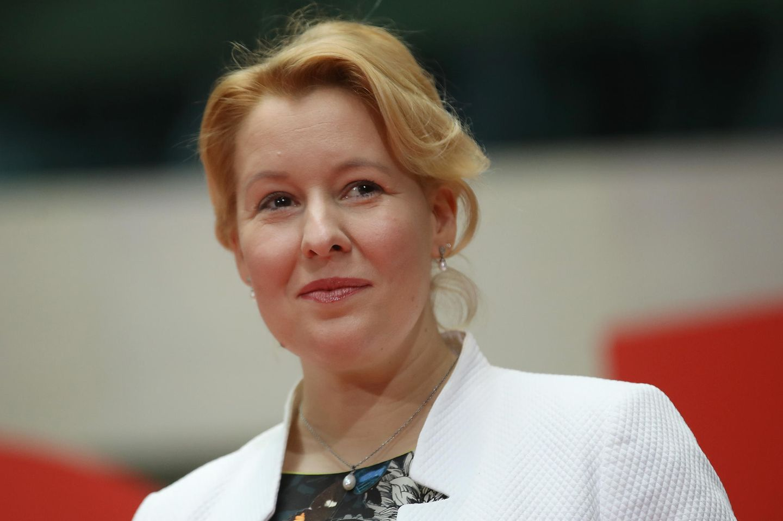 Franziska Giffey, unsere neue Familienministerin