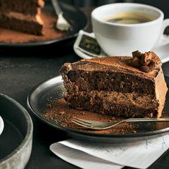 Laktosefreie Schoko-Sahne-Torte