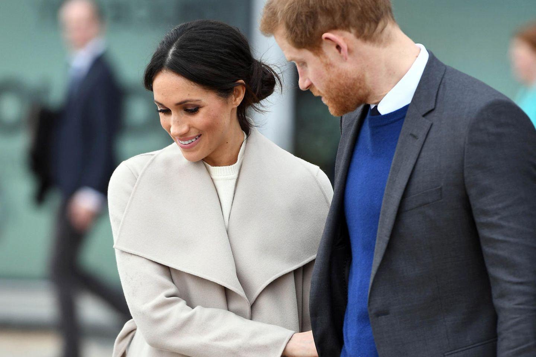 Meghan Markle spricht von einem Baby - und Prinz Harry reagiert SO! ?