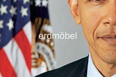 Musiktipps der Redaktion: Barack Obama auf dem CD-Cover von Erdmöbel