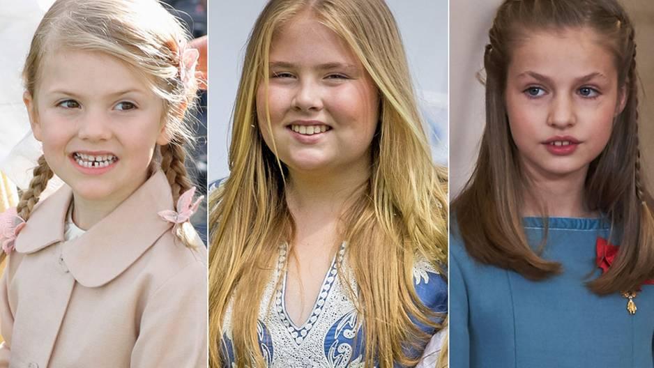 Königinnen in spe: Diese Mini-Royals stehen in den Startlöchern 👑