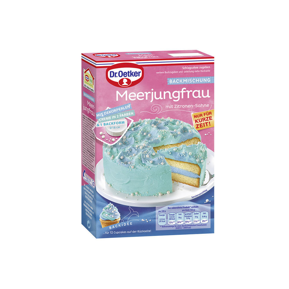 Meerjungfrauenkuchen