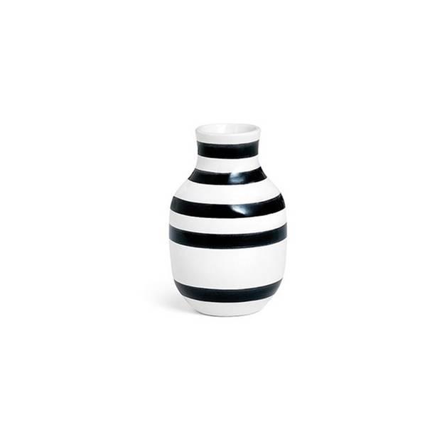 Vase mit Streifen