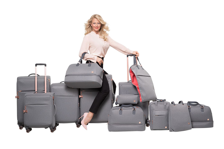 Junges Gepäck zum Mitreisen gesucht - Jetzt macht sie auch noch Koffer!