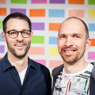 Marius Kursawe (links) und Robert Kötter