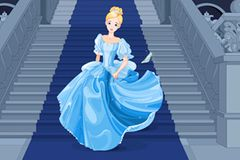 Cinderella-Diät: Cinderella in ihrem Schloss
