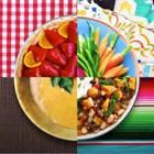 Kochen für 4 Euro: Teller mit vier Mahlzeiten.