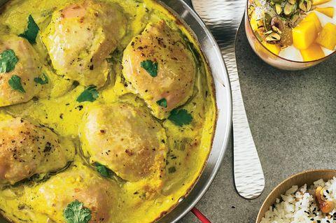 Curry-Hähnchen