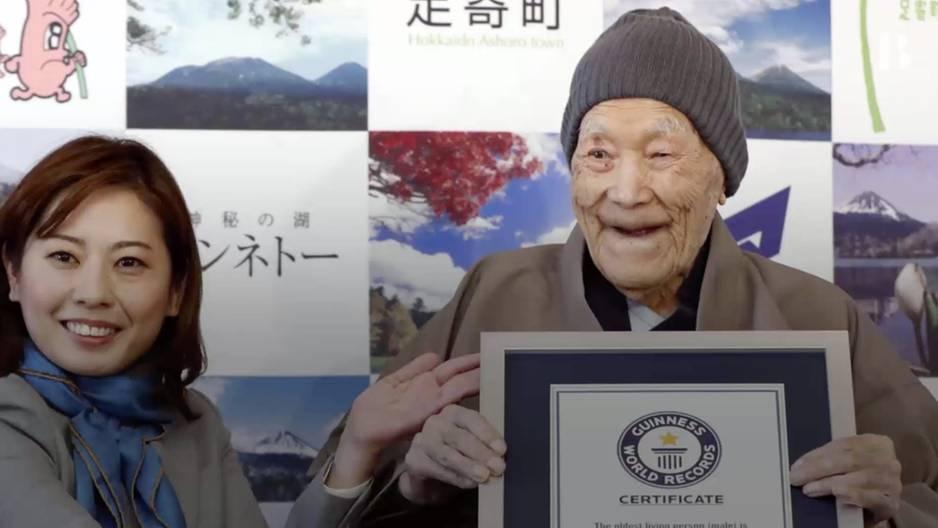 Ältester Mann der Welt verrät sein Geheimnis