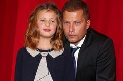 Emma Schweiger und Til Schweiger auf dem Roten Teppich