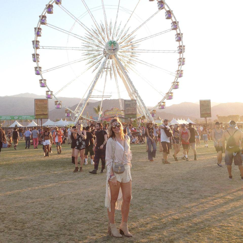 """BRIGITTE.de-Redakteurin Karo war vor zwei Jahren beim Coachella: """"Da war alles noch kleiner."""""""