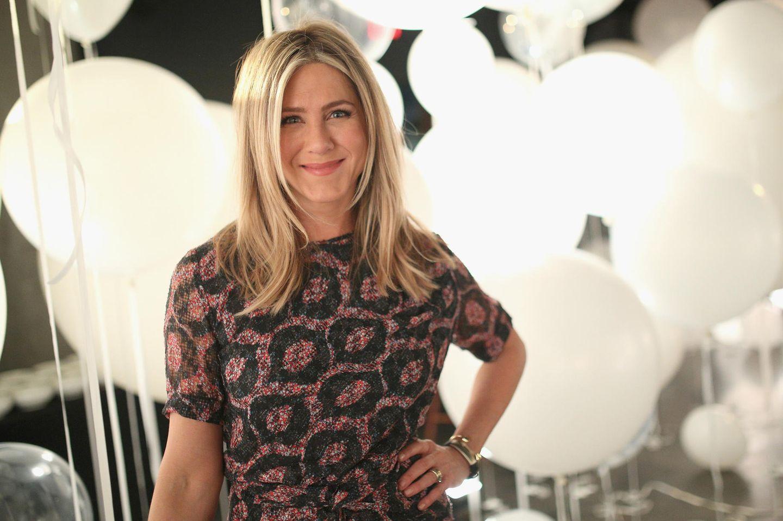 Jennifer Aniston trägt Stufenschnitt