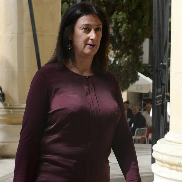 Die ermordete Journalistin Daphne Caruana Galizia