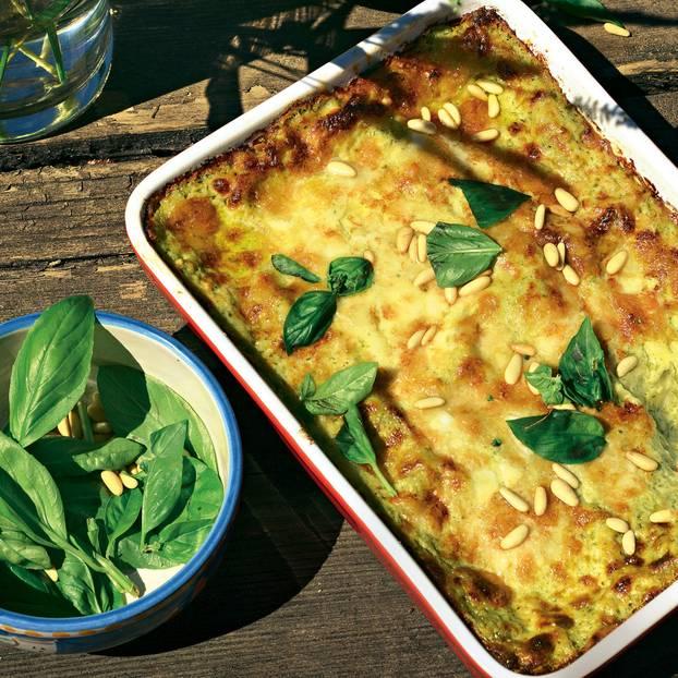 Albas Lasagne al Pesto