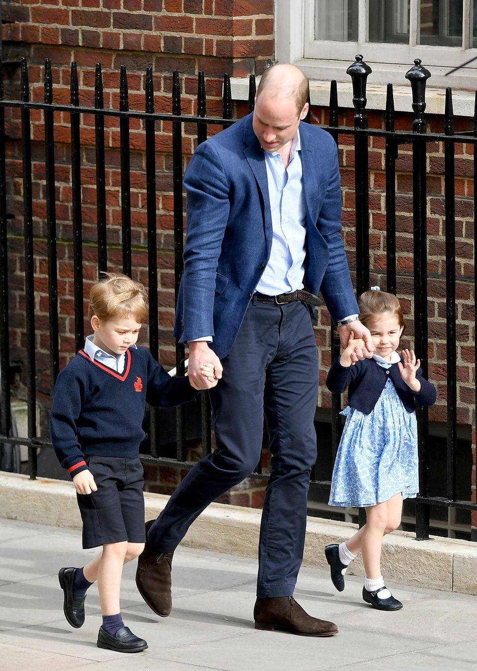 Baby Nummer 3 ist da! William & Kate sind wieder Eltern geworden ?