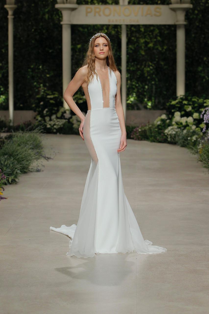 Langes Brautkleid von Pronovias
