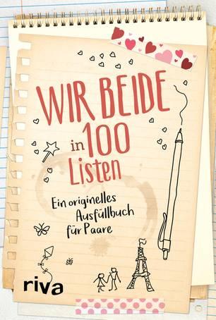 Wir beide in 100 Listen - Buchcover