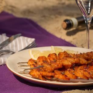 Garnelen grillen: Garnelenspieße vom Grill