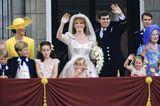 Royal Weddings: Prinz Andrew und Sarah Ferguson