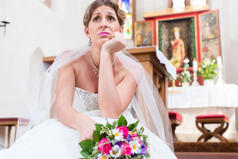 Hochzeit absagen: Wann du lieber nicht vor den Altar treten solltest!
