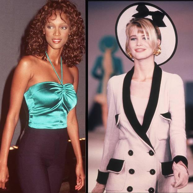 Supermodels früher und heute – sie sind nicht wiederzuerkennen!