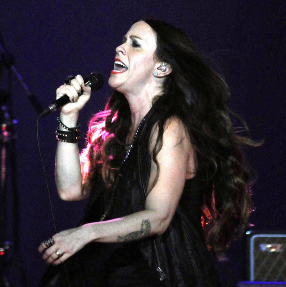 Alanis Morisette auf einem Konzert
