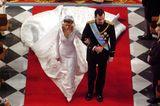 Spanien: Kronprinz Felipe und Letizia Ortiz Rocasolano (22. Mai 2004)