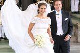Schweden: Prinzessin Madeleine und Chris O'Neill (8. Juni 2013)
