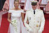 Monaco: Fürst Albert II. und Charlene Wittstock (1. Juli 2011)