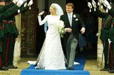 Niederlande: Prinz Johan Friso und Mabel Wisse Smit (24. April 2004)