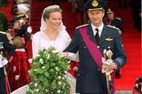 Belgien: Kronprinz Philippe und Mathilde d'Udekem d'Acoz (4. Dezember 1999)