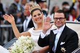 Schweden: Kronprinzessin Victoria und Daniel Westling (19. Juni 2010)