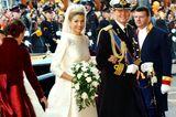 Niederlande: Kronprinz Willem-Alexander und Máxima Zorreguieta Cerruti (2. Februar 2002)