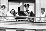 Norwegen: Kronprinz Harald und Sonja Haraldsen (29. August 1968)