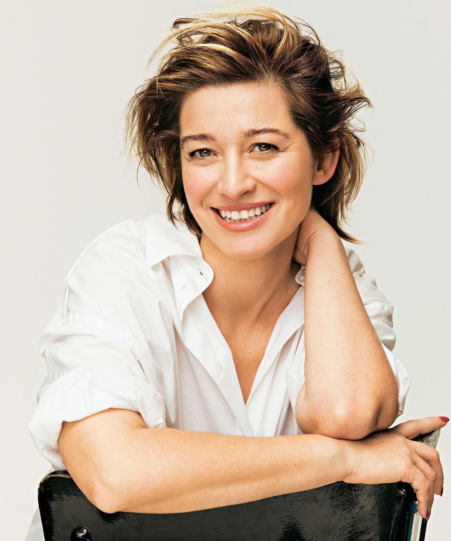 Frisur: Raquel nach dem Umstyling mit Frisur mit Anti-Age-Effekt