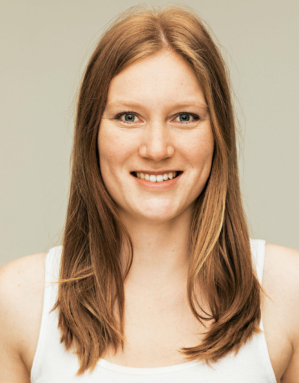 Frisur: Louisa vor dem Umstyling