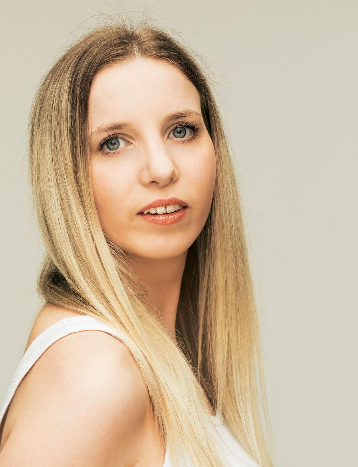 Frisur: Chiara vor dem Umstyling
