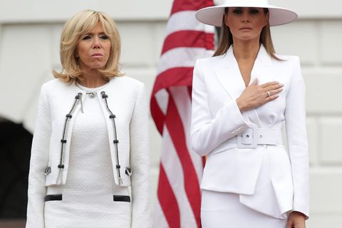 Brigitte Macron spricht Klartext: So tickt Melania Trump wirklich!