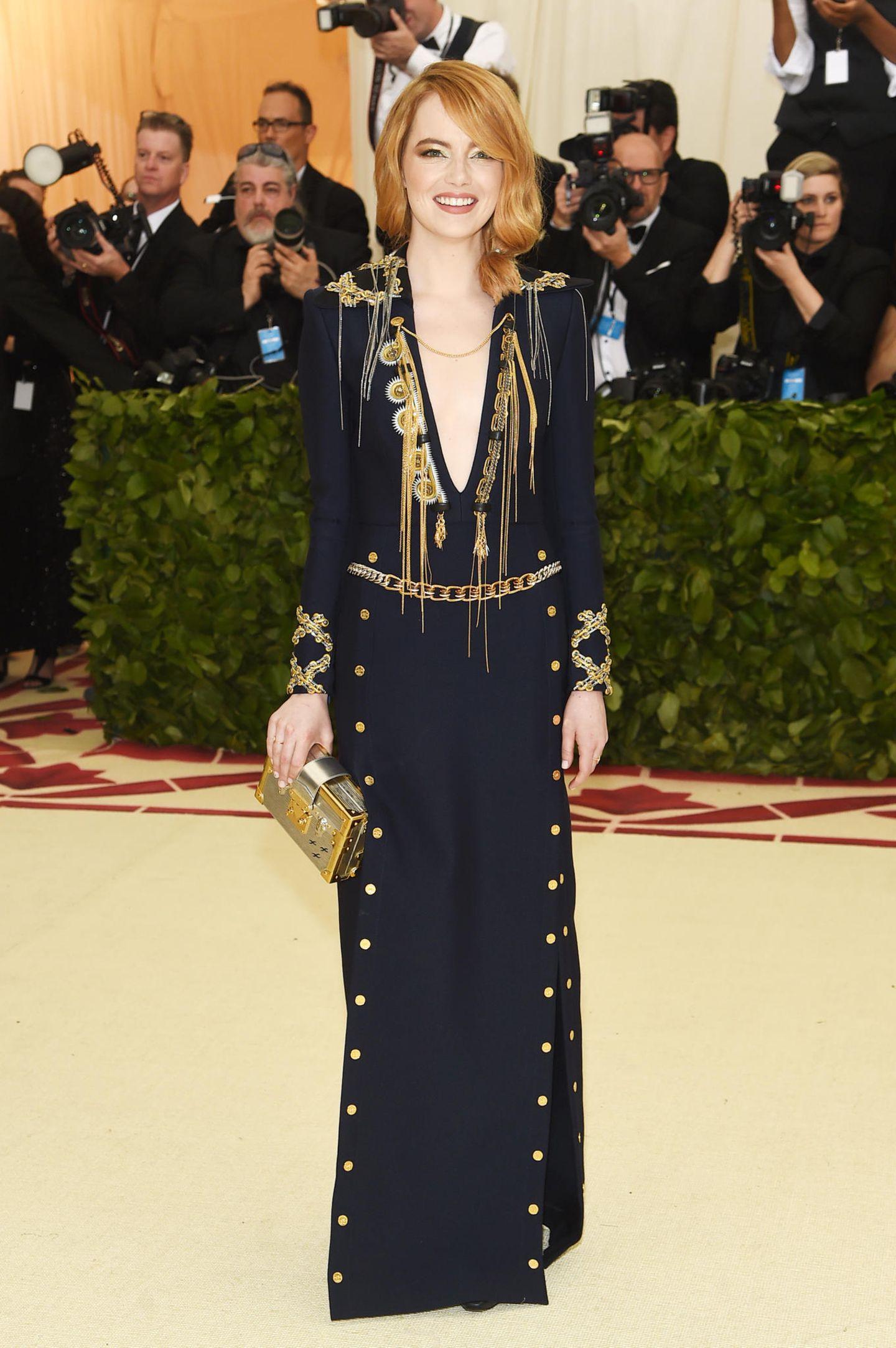 Emma Stone bei der Met Gala 2018
