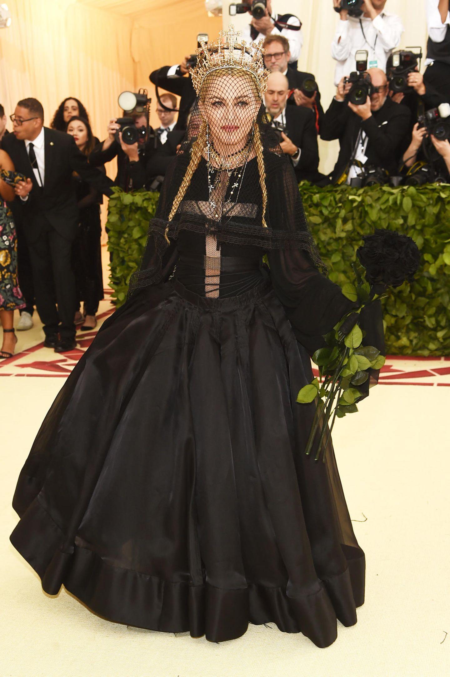 Madonna auf der Met Gala
